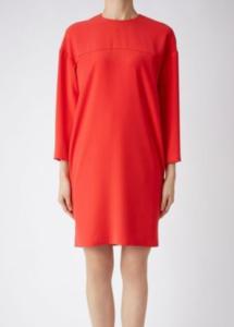 米倉涼子1話衣装赤ワンピース
